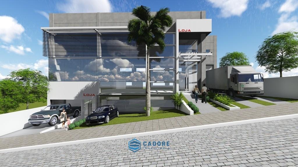 Imobiliaria Cadore - Prédio Comercial com 3 pavimentos!